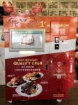 Singapore chain to roll out 100 cooked-crab vending machines by March