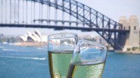 Wealthy Aussies don't just opt for champagne—they'll guzzle anything