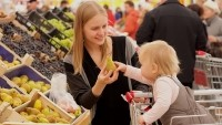 Mothers are the likeliest group of all to do the household grocery shop