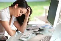 Chronic stress is a major global health concern. © iStock