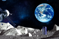 Astronomical shipping charges! Japanese sports drink eyes moon landing