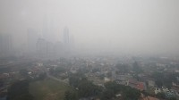 The effects of fires in Sumatra is having an impact on Kuala Lumpur